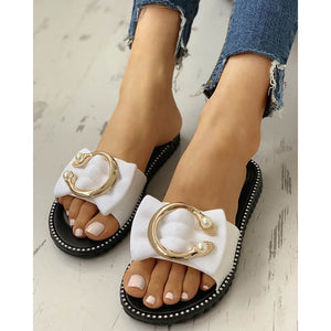 Stylish Casual Comfort Flat   Slippers