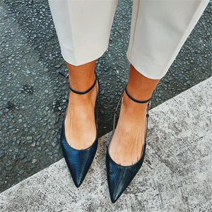 Women's Simple Versatile Pointed   Flat Shoes