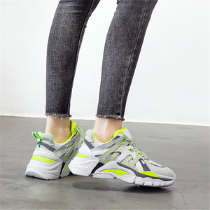 Women's platform casual sports shoes