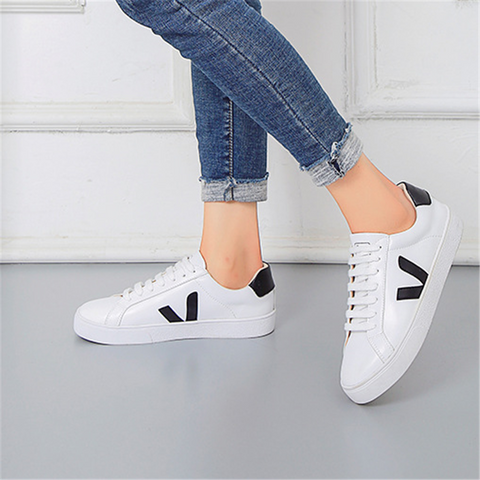 Women's wild leather casual shoes