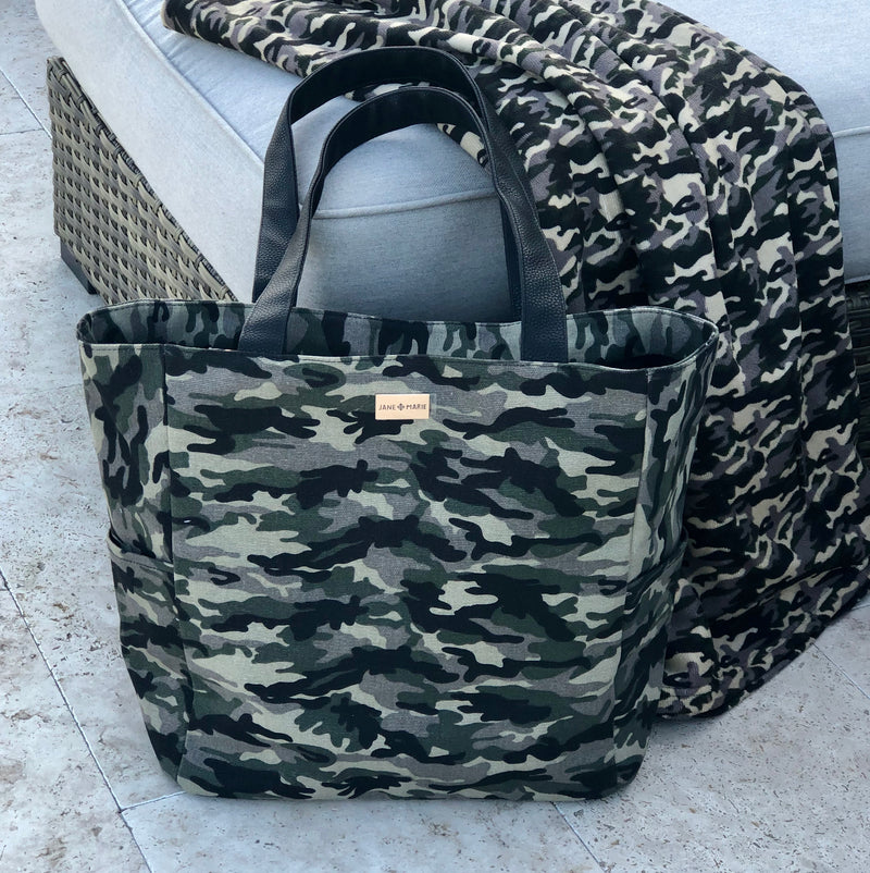 In Plain Sight Camo Tote