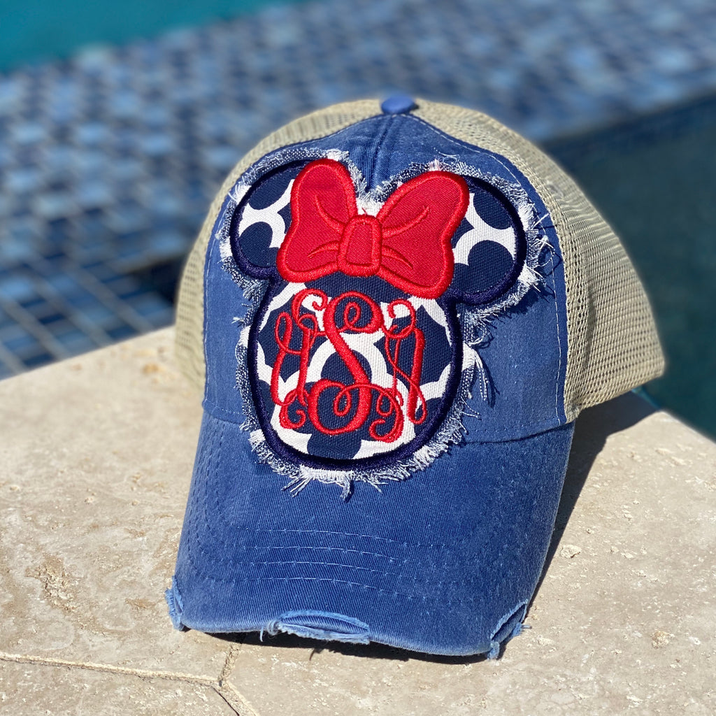 Minnie USA Cap