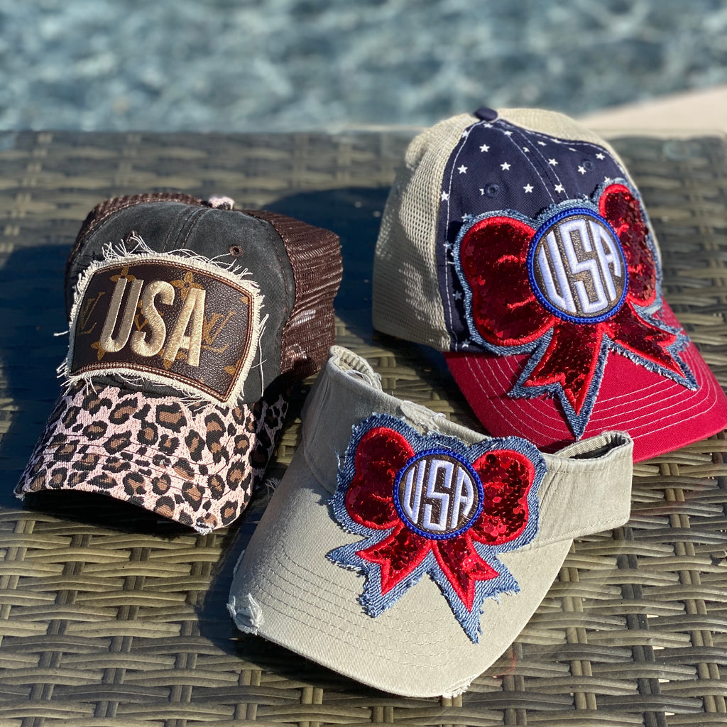 USA Sparkle Visor