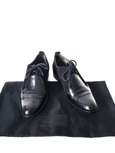 Alexander Wang Black Oxford Loafers