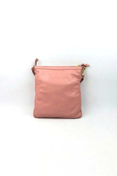 BALENCIAGA Light Pink Small Crossbody GHW w/ Mirror