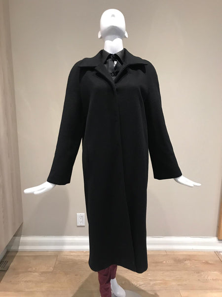 PIAZZA SEMPIONE Black Long Coat