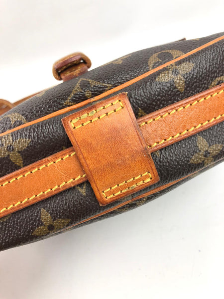 LOUIS VUITTON Monogram Canvas Vintage Jeune Fille Crossbody Bag