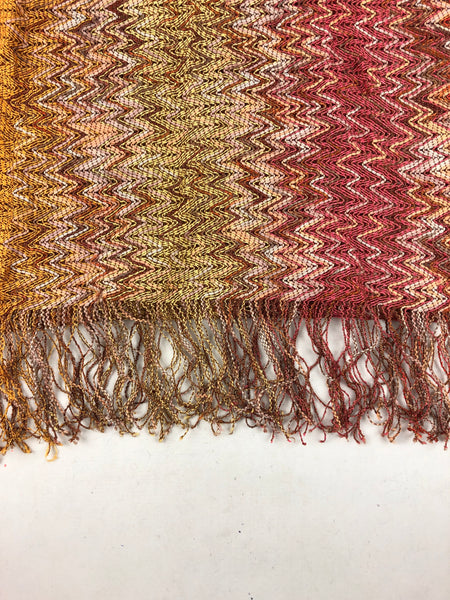 MISSONI Quilted Cotton Scarf