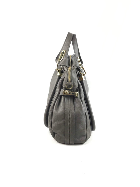 CHLOE Dark Brown Large Paraty Bag