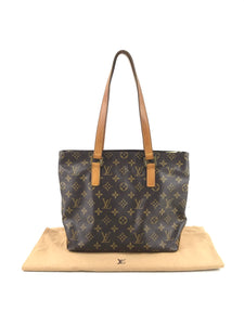 LOUIS VUITTON Monogram Coated Canvas Small Shoulder Bag Tote