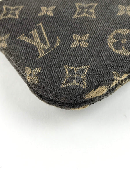 Louis Vuitton Brown Monogram Mini Lin Pochette