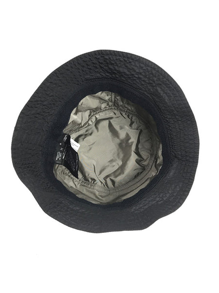 PRADA Black Nylon Bucket Hat