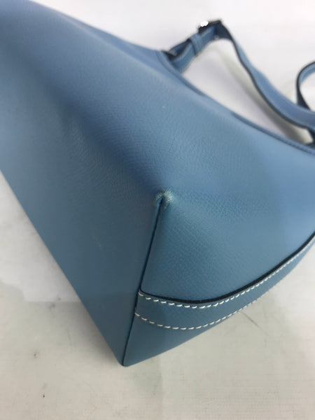 Hermes Blue Jean Veau Epsom Berlingot PM Shoulder bag w/ PHW