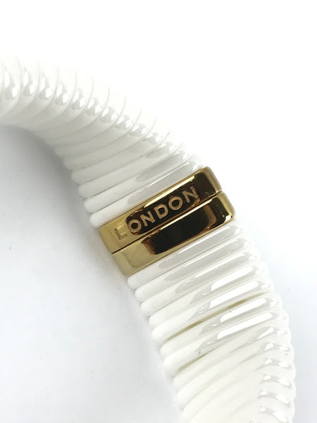 LINKS OF LONDON White Ceramic Sweetie Bracelet
