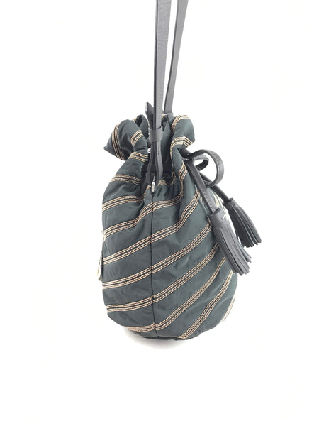BRUNELLO CUCINELLI Drawstring Bucket Shoulder Bag