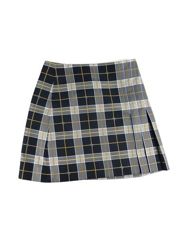 BURBERRY Navy Nova Check Skirt