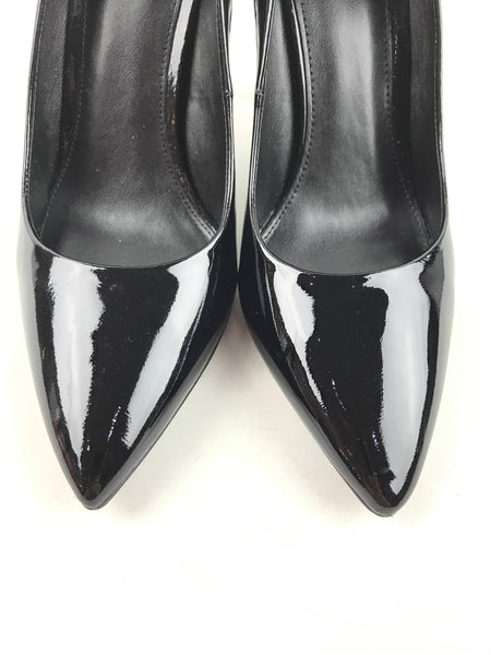 MICHAEL KORS Black Patent Leather Pointed Toe Pumps