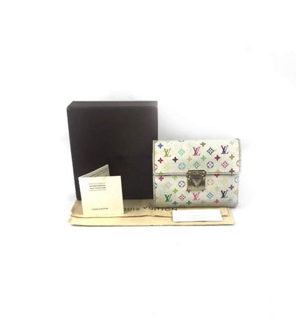 LOUIS VUITTON Multi-Color Monogram Koala Wallet