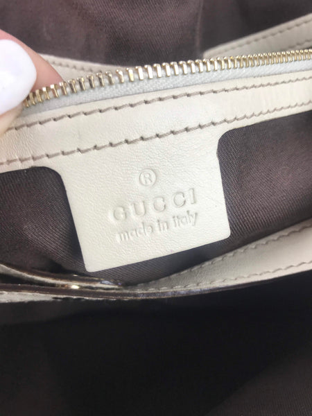 GUCCI Monogram Canvas Pelham Bag