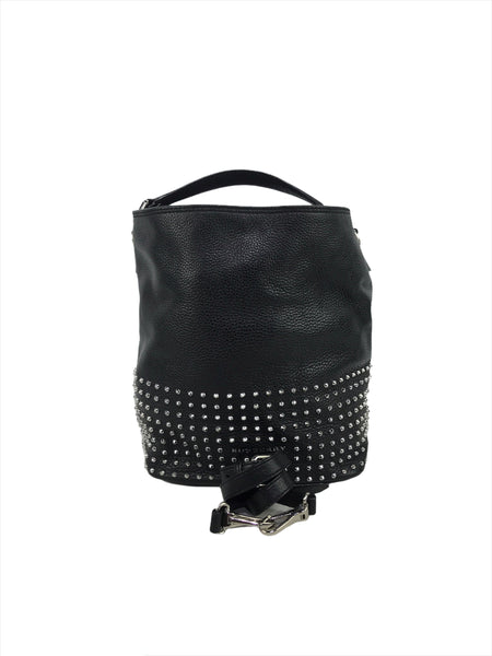 Burberry Grained Leather Spiked Susana Hobo bag w/SHW