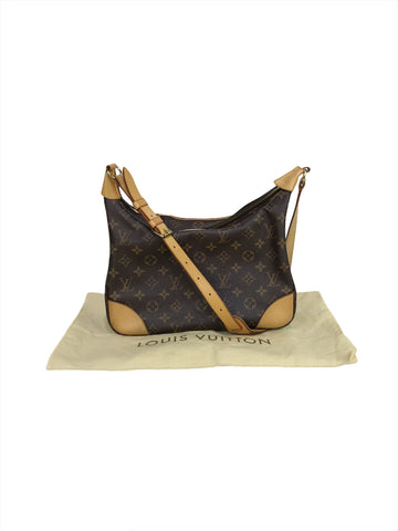 Louis Vuitton Monogram Coated Canvas Boulogne 30 Bag w/GHW