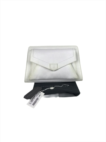 Proenza Schouler PS13 Gray Envelope Clutch
