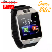 Load image into Gallery viewer, VIP DZ09 Pedometer Smartwatch