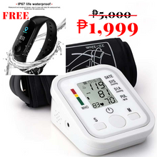 Load image into Gallery viewer, Electronic Blood Pressure Monitor (FREE!!! SMART WATCH!!!)