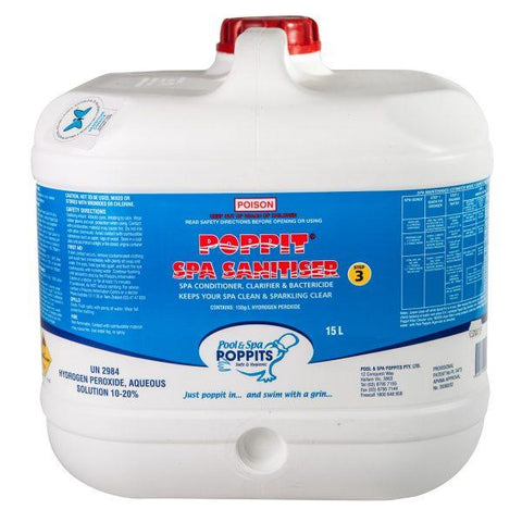 Poppit Spa Sanitizer 15L