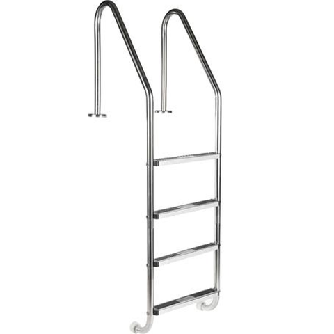 4 Step Pool Ladder. Model LS ( Concrete In )