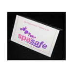 Spa Safe Tent Display Card
