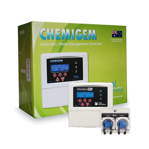 Chemigem D10P liquid chlorine & pH feeder