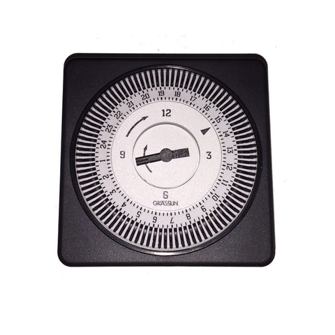 Grasslin Time Clock with Surround - Battery Backup