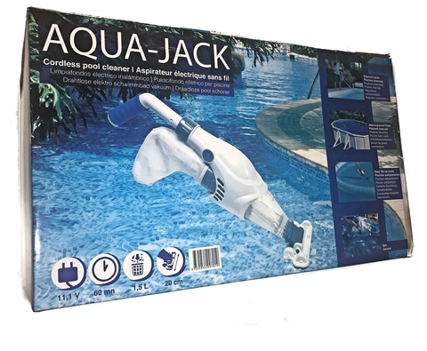 Aquajack Electric Cordless Spa & Pool Cleaner