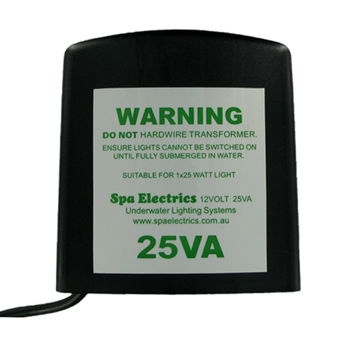 Spa Electrics 12v 25VA Transformer