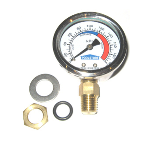 Pressure gauge suits Baker Hydro / Bowman (inc mounting hardware)