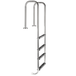 4 Step Pool Ladder. Model LU ( Flanged For Mounting )