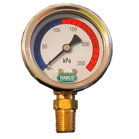 Pressure Gauge S/Steel Bott Mount 50mm