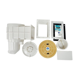 Quiptron Skimmer Box with Extended Throat & Escutcheon Kit