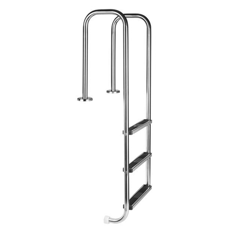 3 Step Pool Ladder. Model LU ( Flanged For Mounting )