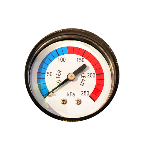 Pressure Gauge Plastic Back Mount 50mm