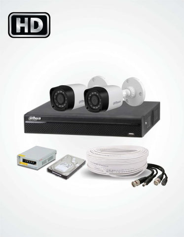 2 Cameras Solution (Dahua) - Security360.pk