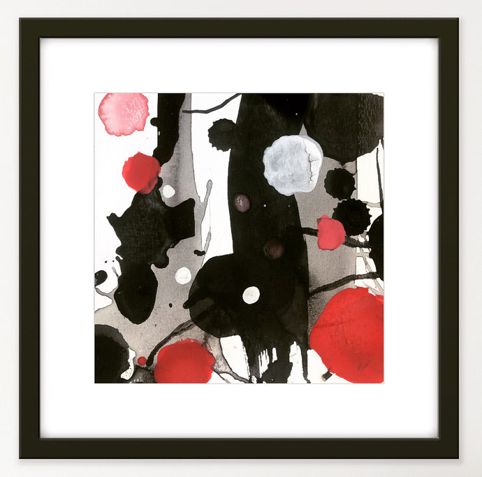 Red, Black & White. Classic Japanese Colour Combo. #Art