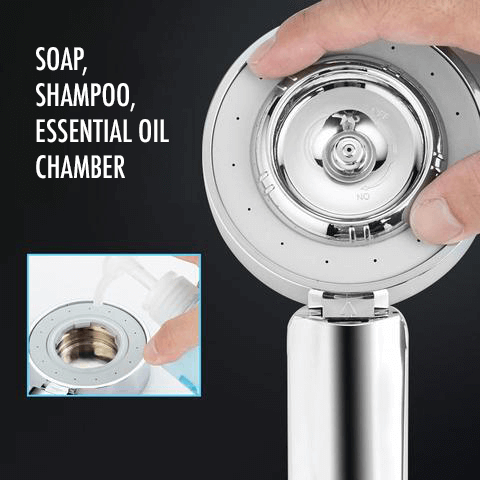 3-Stage Magic SPA Shower Head