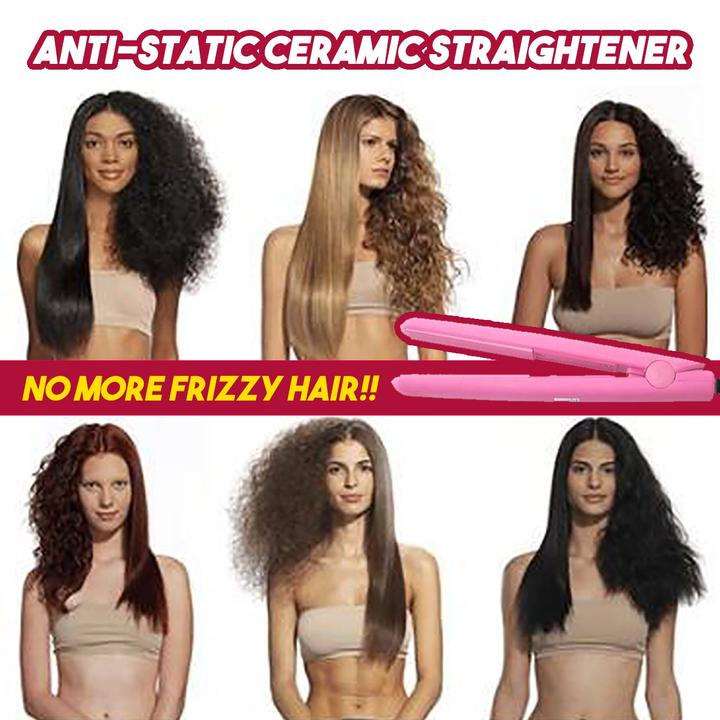FrizzPro ™ - Anti-Static Ceramic Straightener