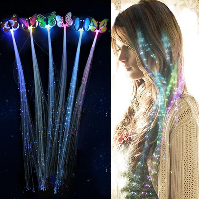 LED Flashing Hair Braids (Buy 1 FREE 1)