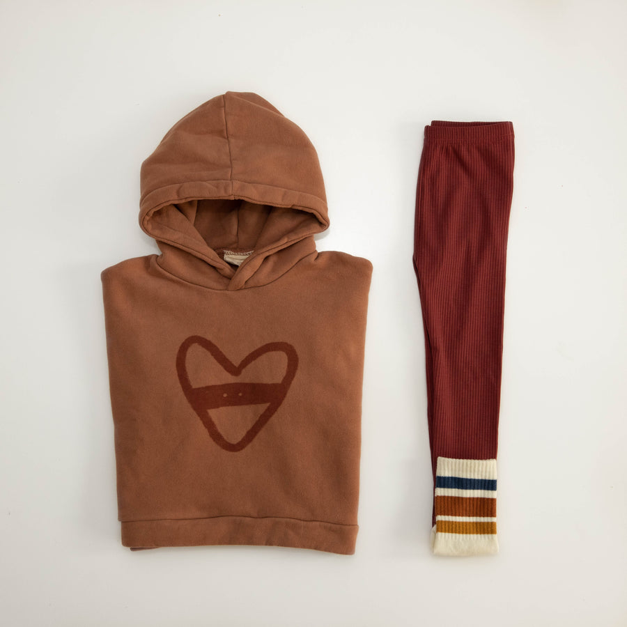 Oversized Hoody- Heart