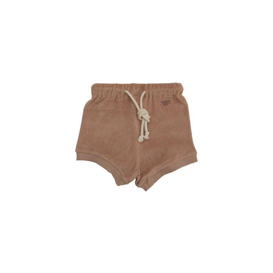Reverse Terry Short - Dusty Pink
