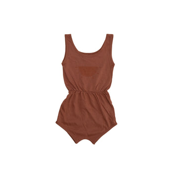 Sleeveless Retro Romper - Sun