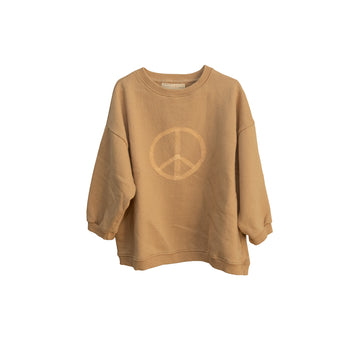 Oversized Sweater - Peace Latte (Adult)